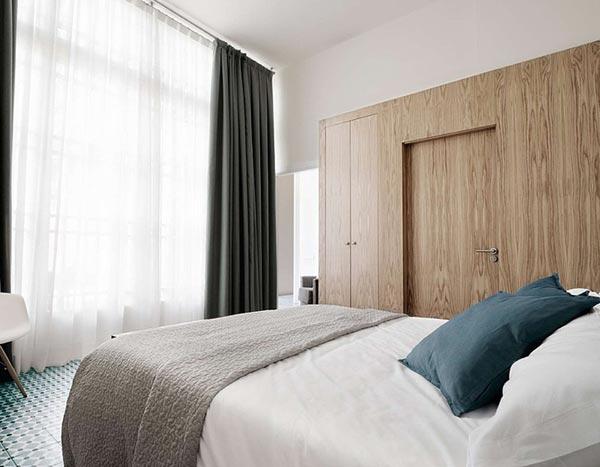 Karakteristiek slaapkamer ontwerp homease