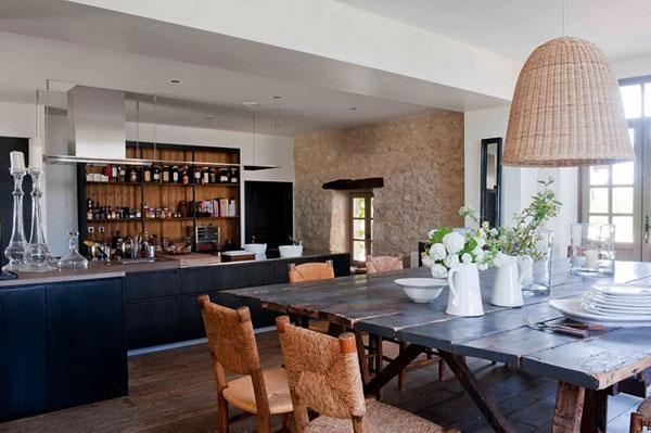 moderne keuken in boerderij  consenza for ., Meubels Ideeën