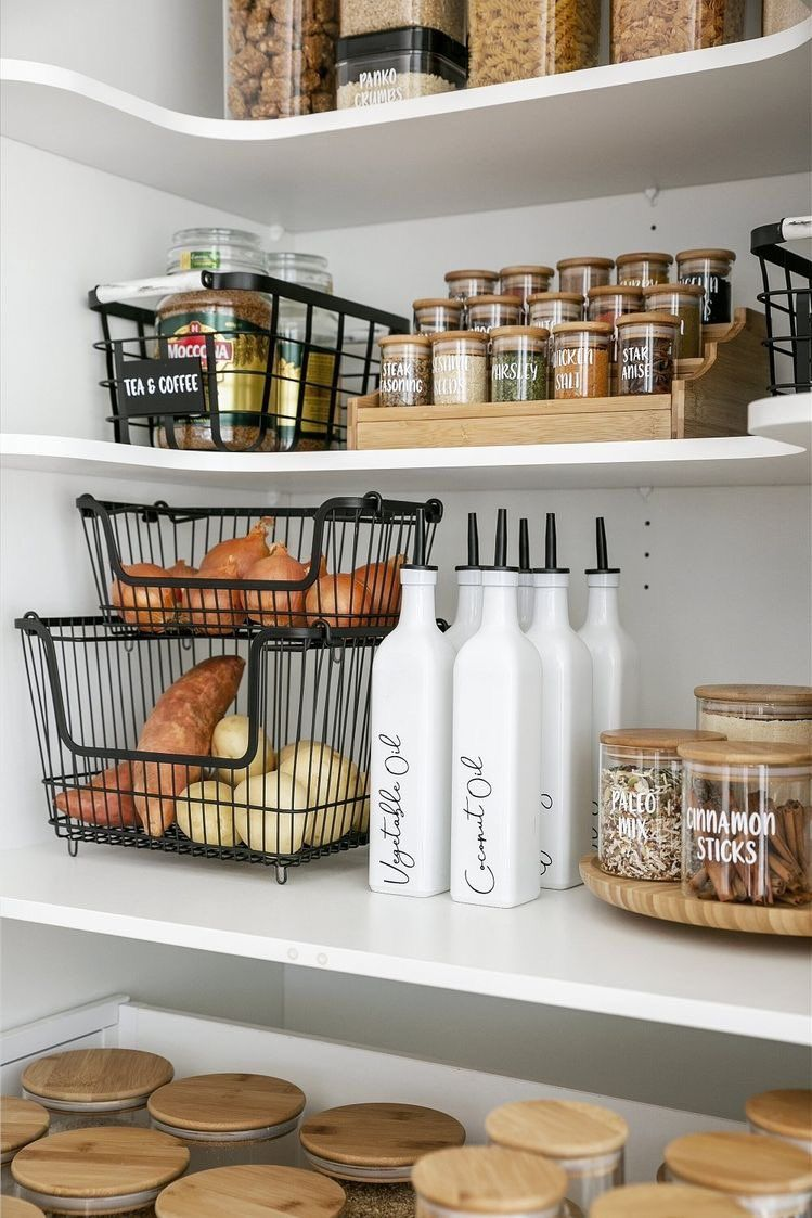 keukenkasten organiseren