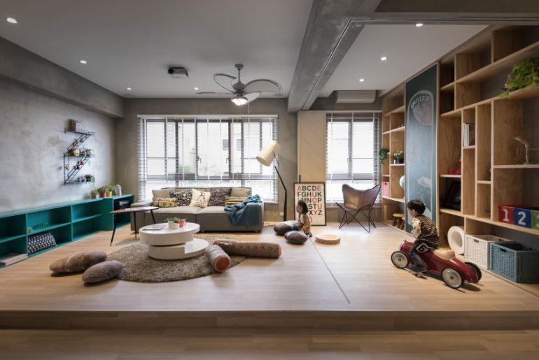 Inrichten Speelhoek Woonkamer : Leuk idee voor speelhoek in woonkamer ...