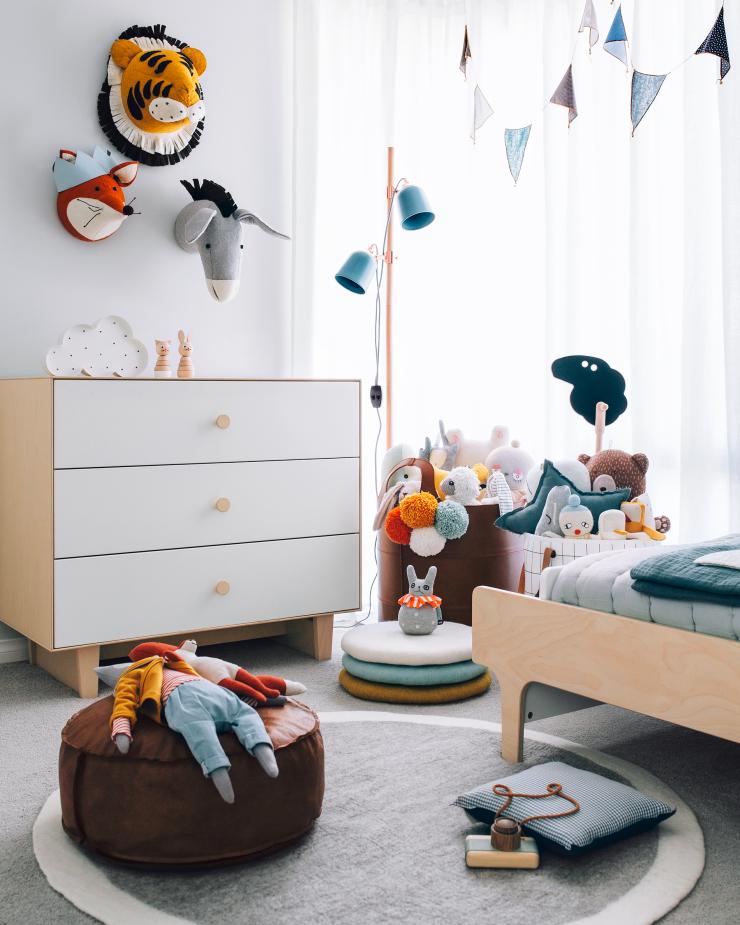 Kinderkamer van Chet