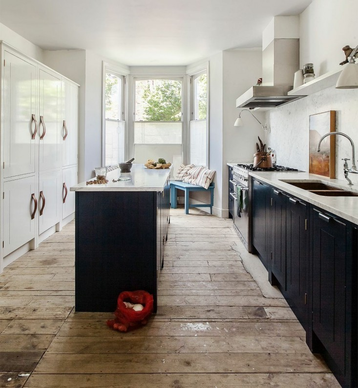 Klassieke Engelse stoere landelijke keuken