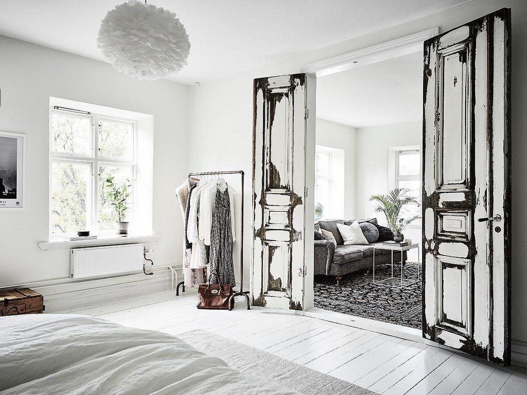 kledingrek slaapkamer ideeën