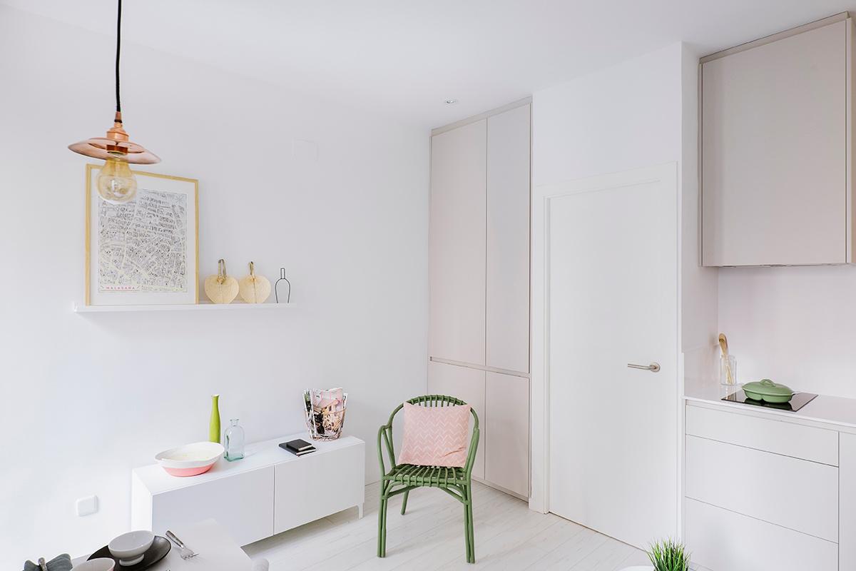 Inrichting Klein Appartement : Klein appartement van m uit madrid homease