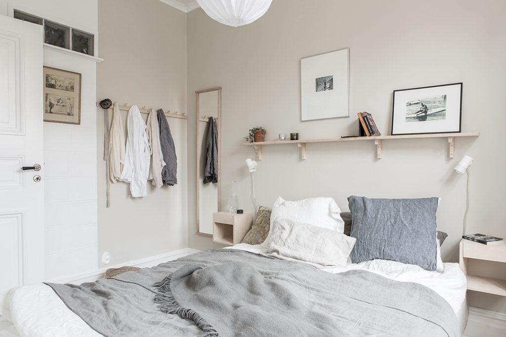 Klein appartement van 56m2 met een slimme indeling