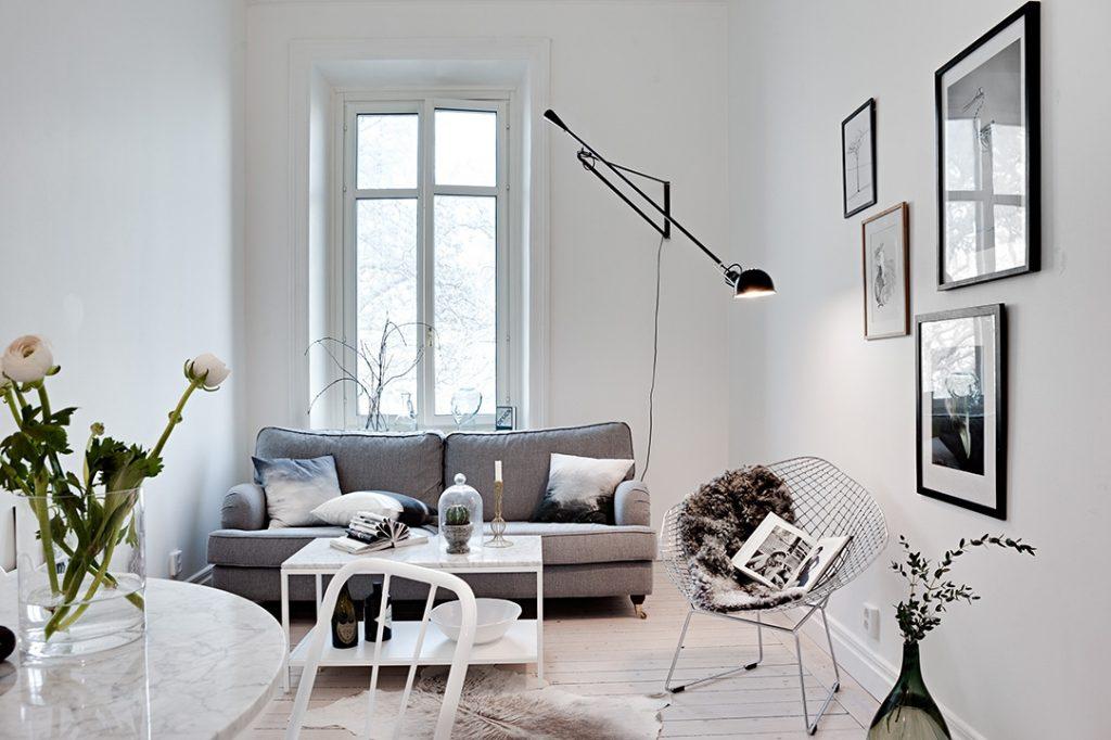 Klein appartement met een bijzondere indeling homease - Decoratie klein appartement ...