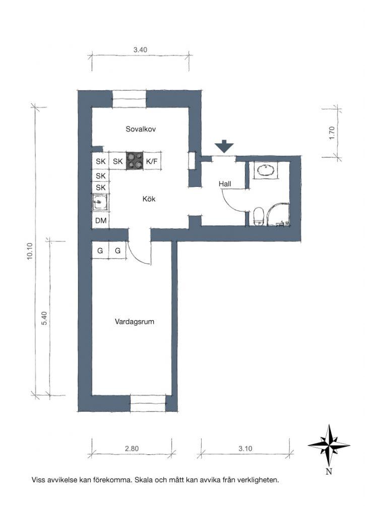Klein appartement met een bijzondere indeling homease - Een klein appartement ontwikkelen ...
