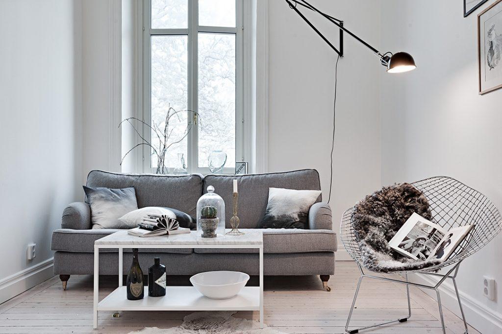 Klein appartement met een bijzondere indeling