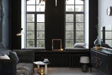 Industrieel interieur homease - Layout klein appartement ...