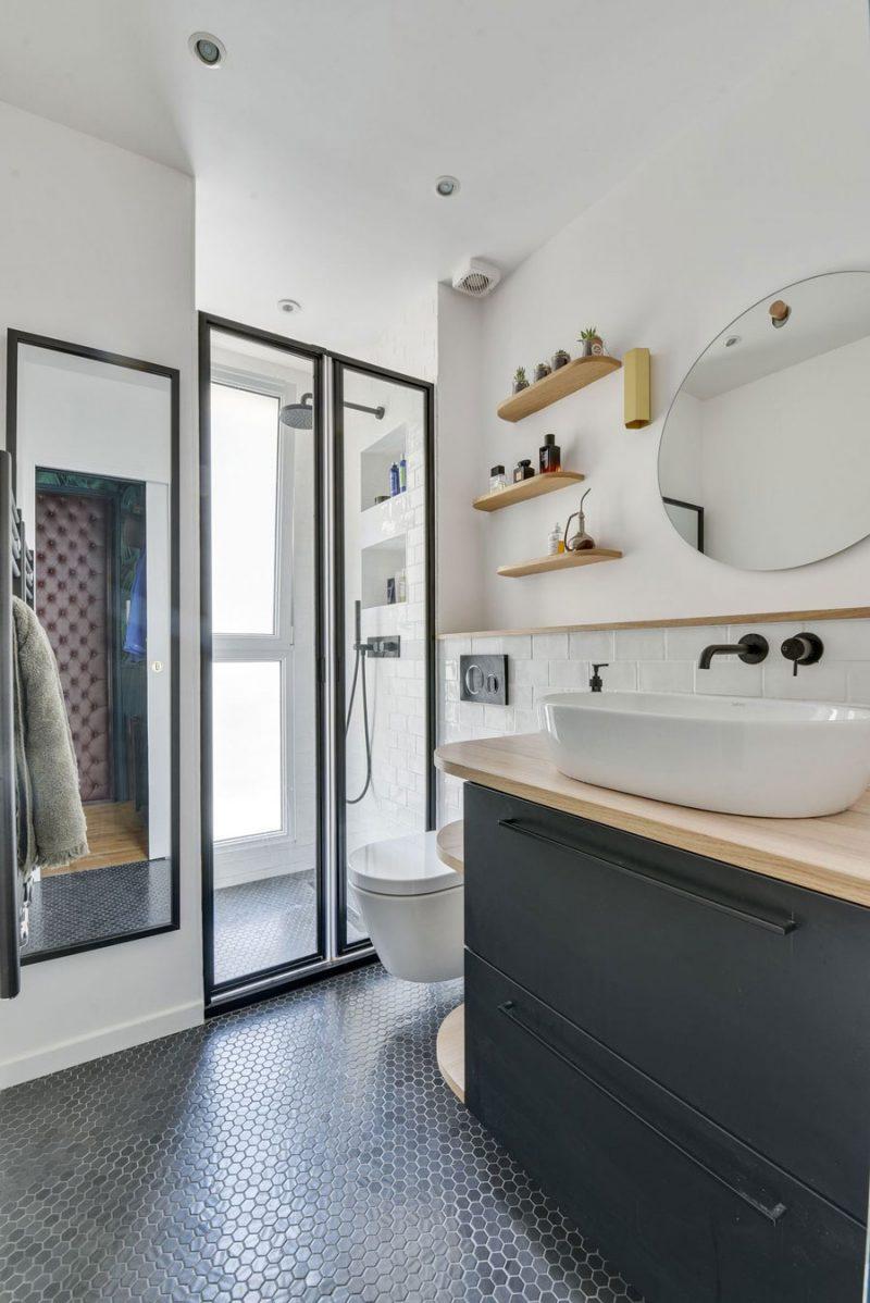Kleine badkamer ontwerp