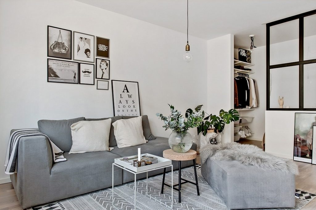Slaapkamer In Woonkamer : Kleine half open slaapkamer naast woonkamer homease