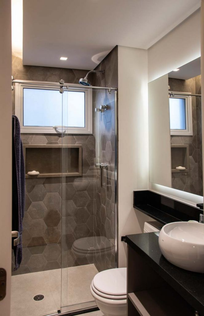 kleine inloopdouche kleine badkamer