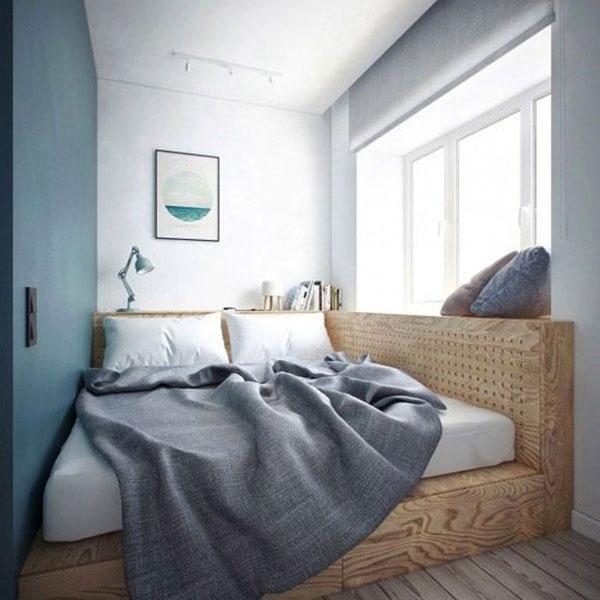 Kleine slaapkamer inspiratie