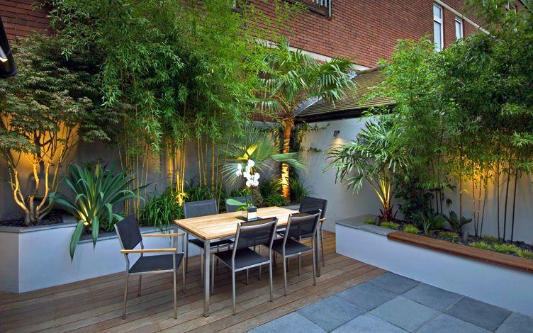 kleine tuin ontwerpen bali tuin bomen planten