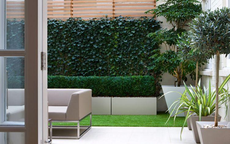 kleine tuin ontwerpen kleine moderne patio tuin