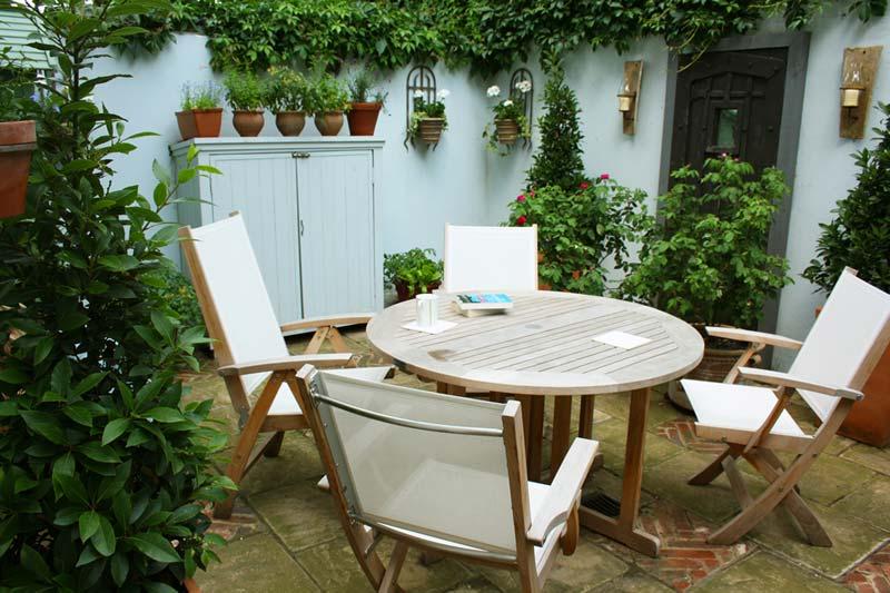 kleine tuin ontwerpen kleine romantische tuin
