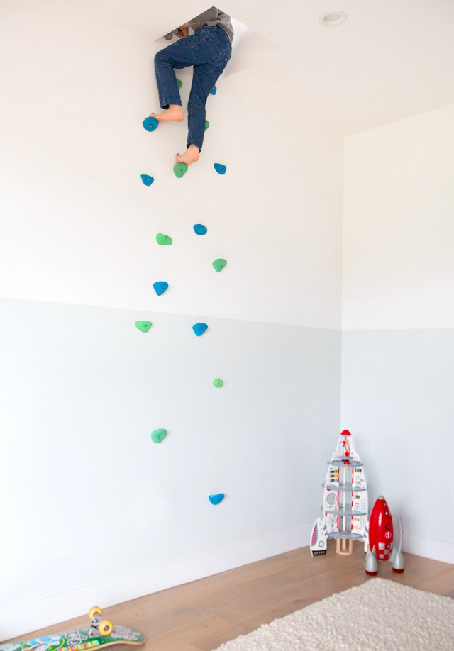 Klimmuur in de kinderkamer