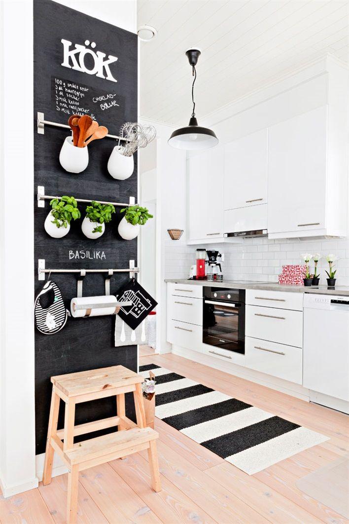 Krijtbord in huis homease - Onderwerp deco design keuken ...
