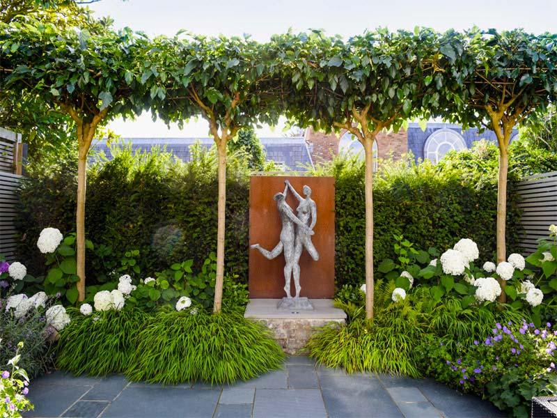 kunst in tuin beeld