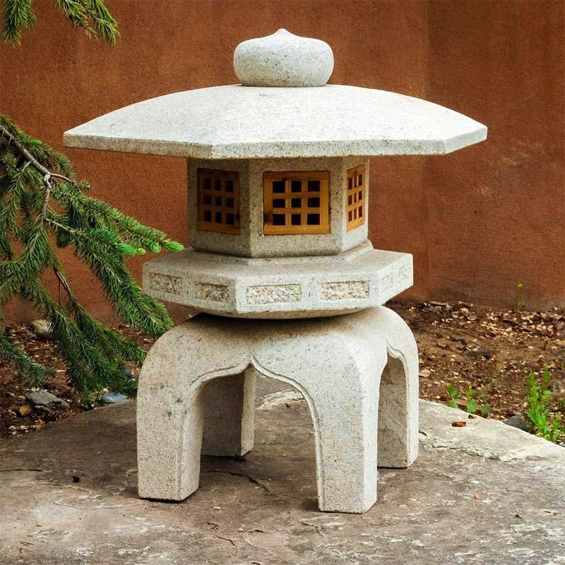 kunst in tuin japans