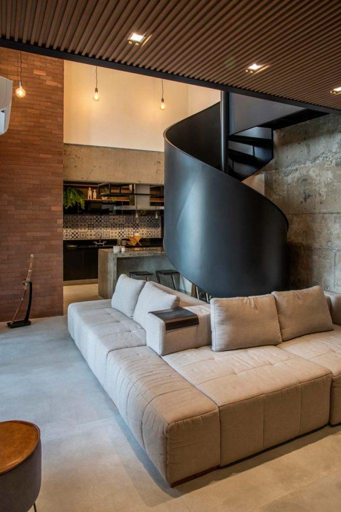 l-vormige loungebank woonkamer