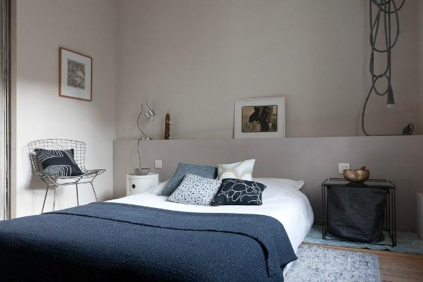 Een muurtje achter het bed homease for Bed in muur