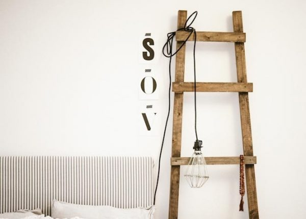 Ladder in huis
