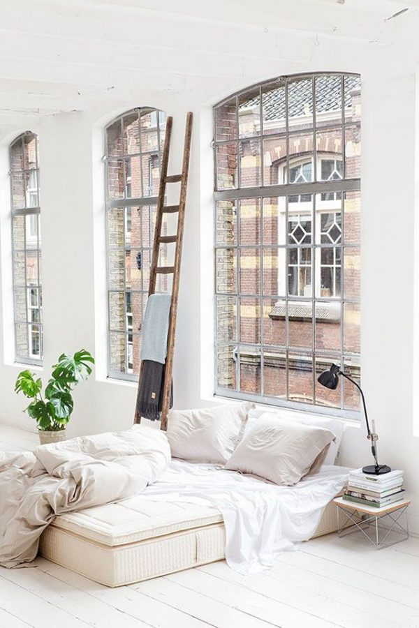Ladder in huis