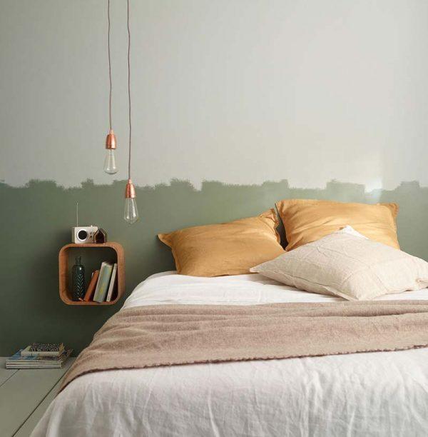 lambrisering verven slaapkamer speels