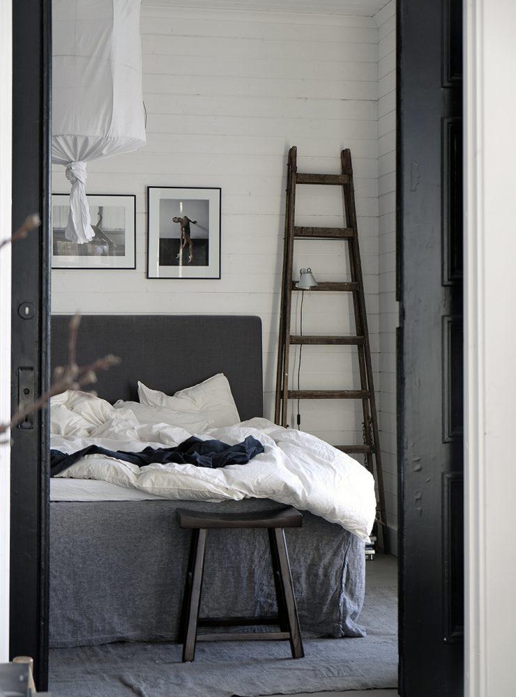 Landelijke slaapkamer van stylist Pella Hedeby | HOMEASE