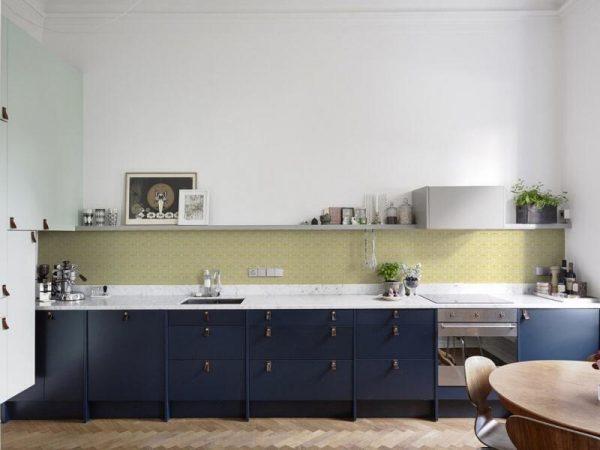 Leren handgrepen keuken