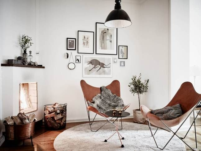 10x bruin leer in het interieur homease for Cognac kleur combineren interieur