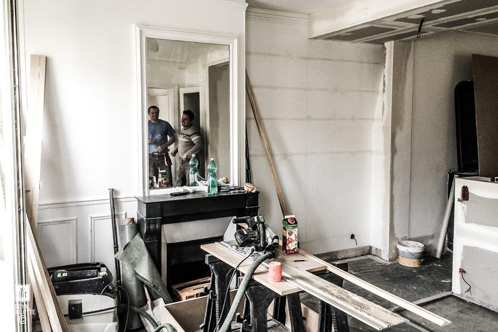 Leuk idee om de slaapkamer en de woonkamer te scheiden