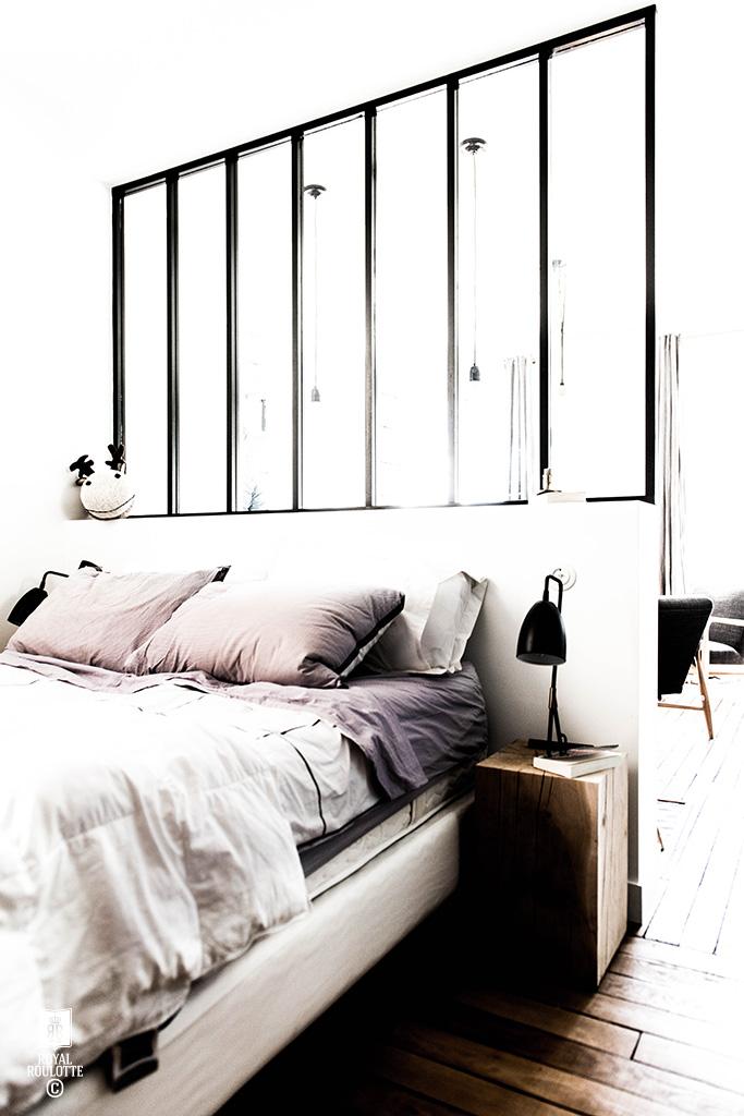 Leuk idee om de slaapkamer en de woonkamer te scheiden homease - Slaapkamer idee ...