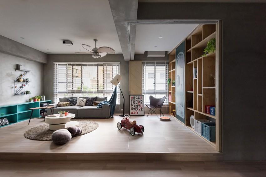 Leuk idee voor speelhoek in woonkamer | HOMEASE