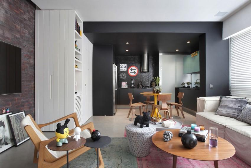 Compacte Woonkamer Inrichting : Leuk ontwerp van een compacte woonkamer homease