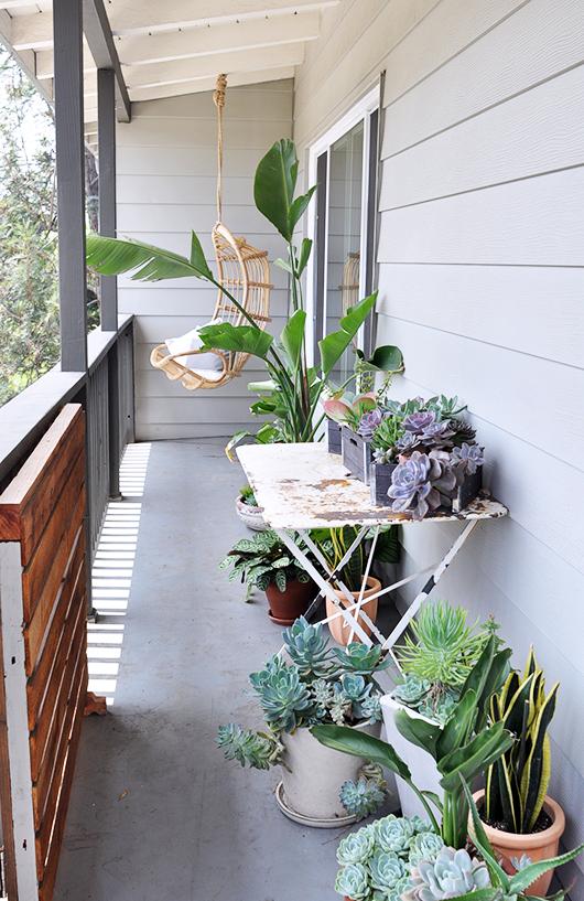 Het leuke balkon van Victoria