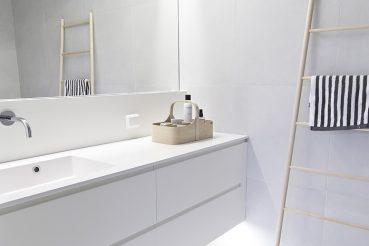 Lichte moderne badkamer van Maja