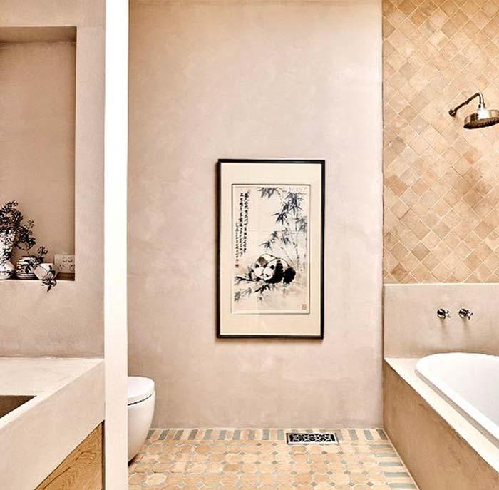 limewash verf badkamer bauwerk