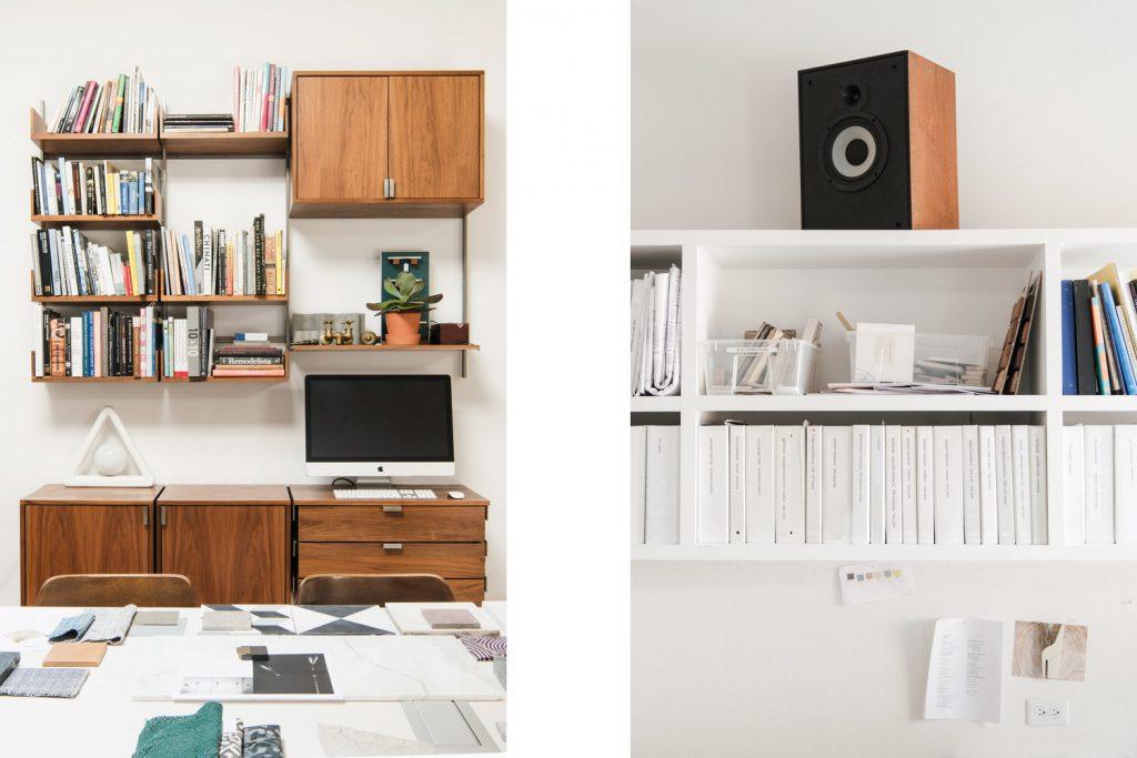 Loft kantoor van Elizabeth Roberts Architecture & Design