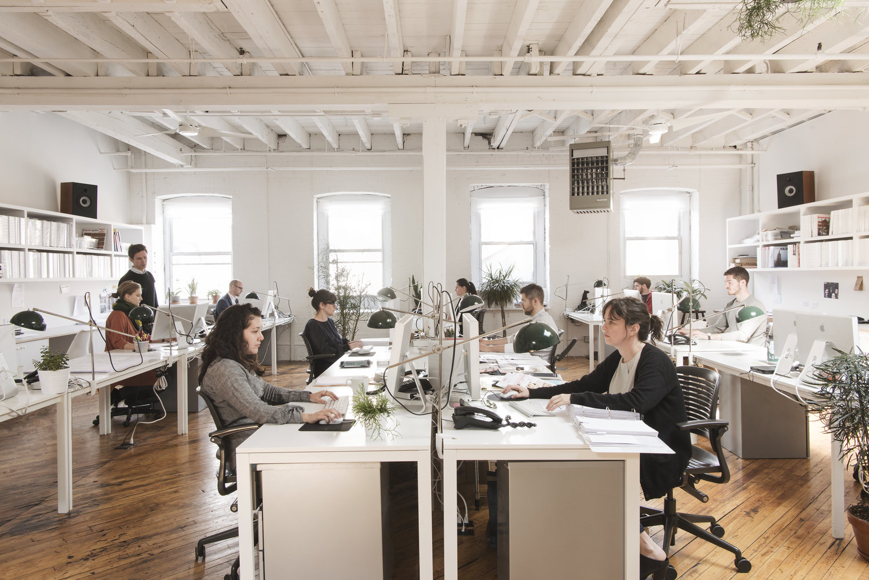 Loft kantoor van elizabeth roberts architecture design for Kantoor architect