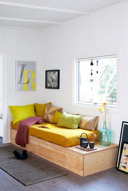 loungebank maken in woonkamer homease