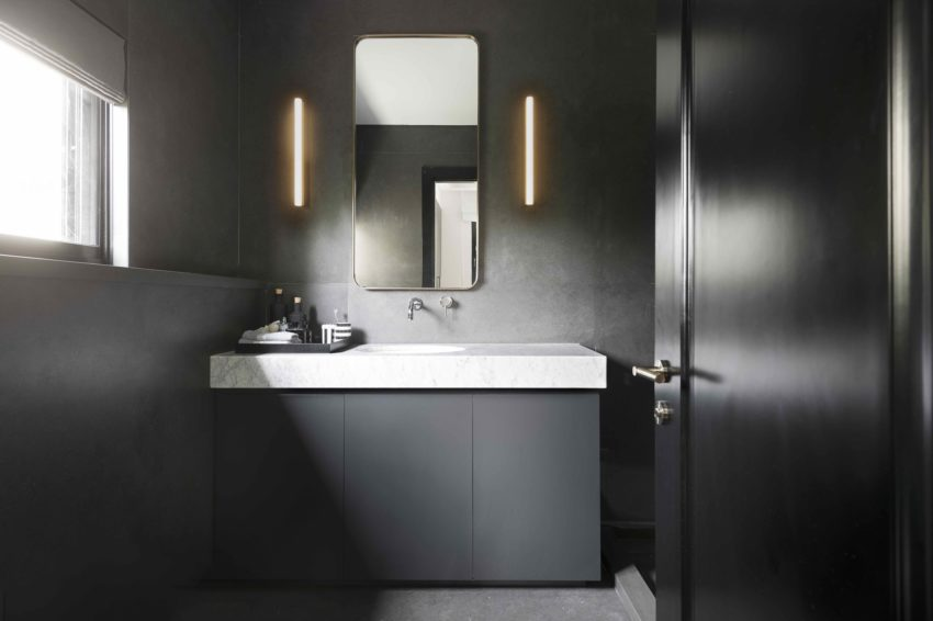 luxe badkamer donkergrijs