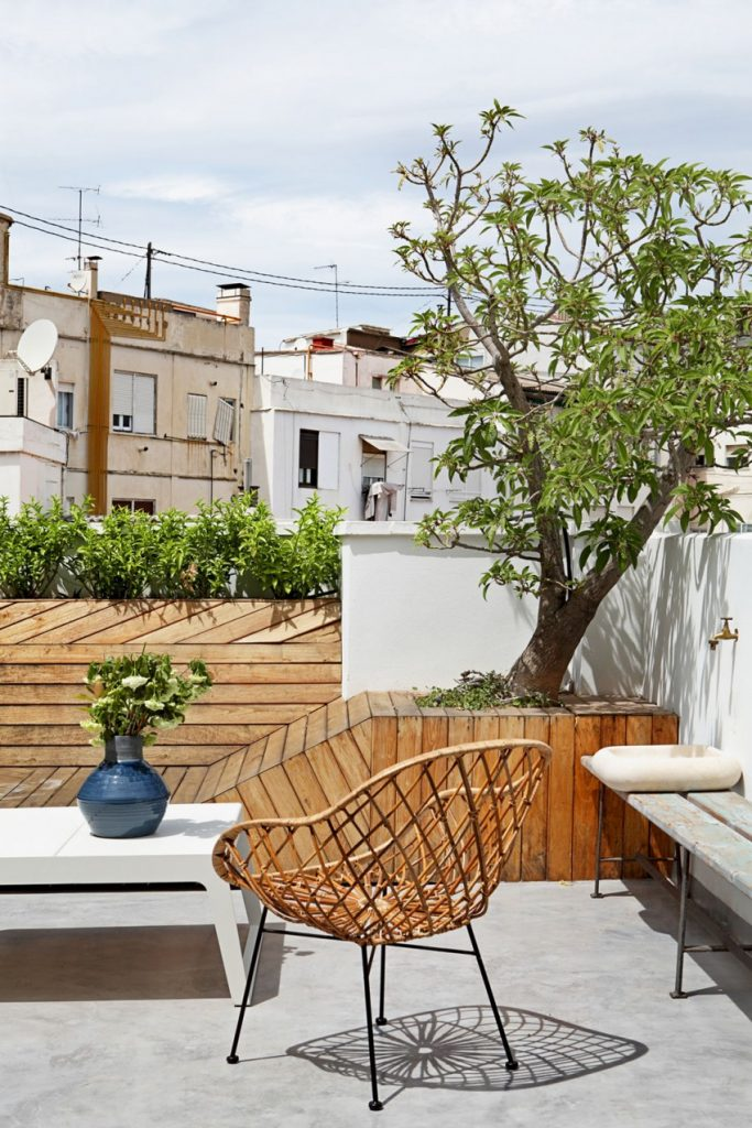 Luxe dakterras in Valencia