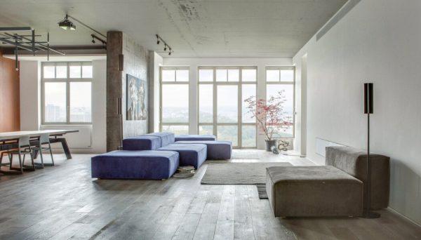 Luxe loft met open karakter