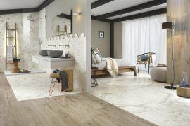 Luxe slaapkamer badkamer suite
