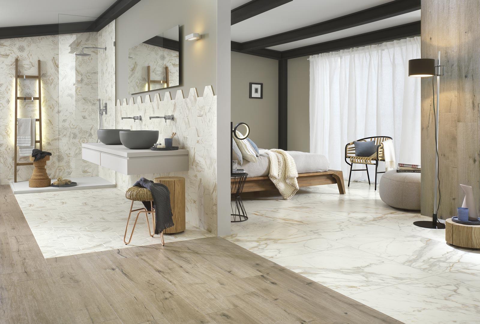 Home » Badkamer inspiratie » Luxe slaapkamer badkamer suite