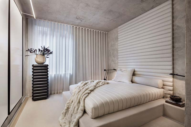 luxe slaapkamer hoofdbord
