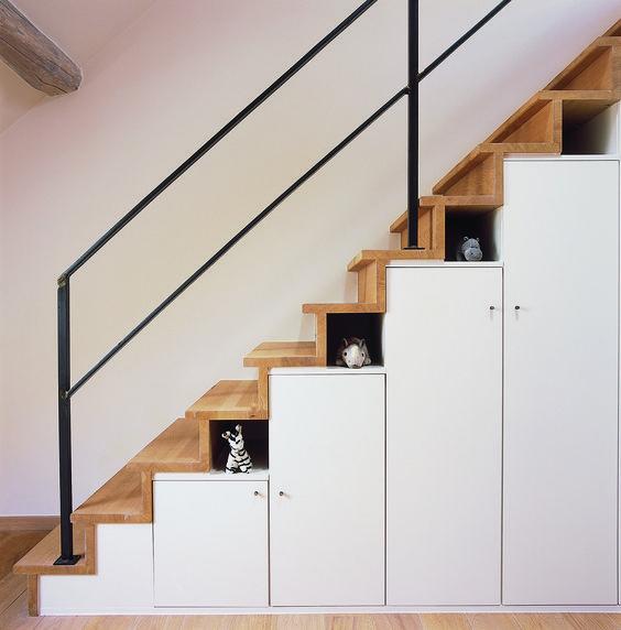 Maatwerk trapkast