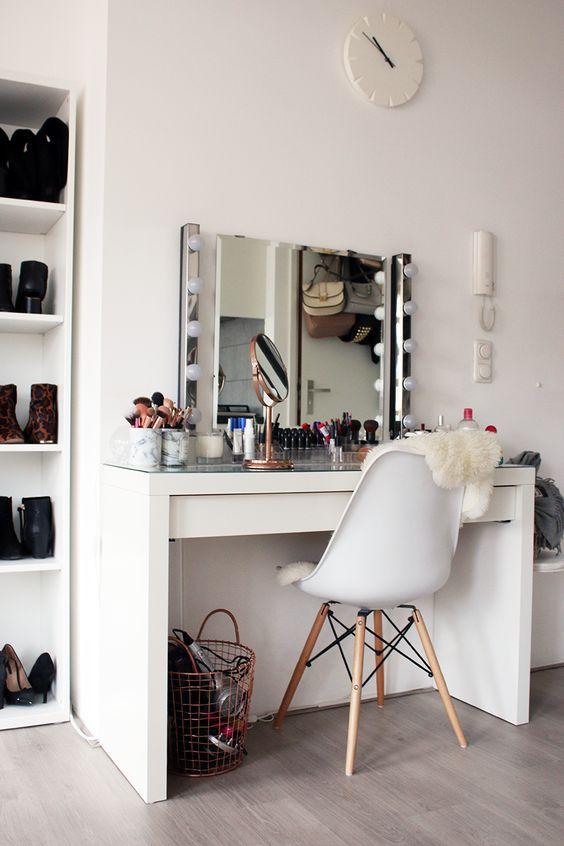 Make up tafel: inspiratie & ideeën